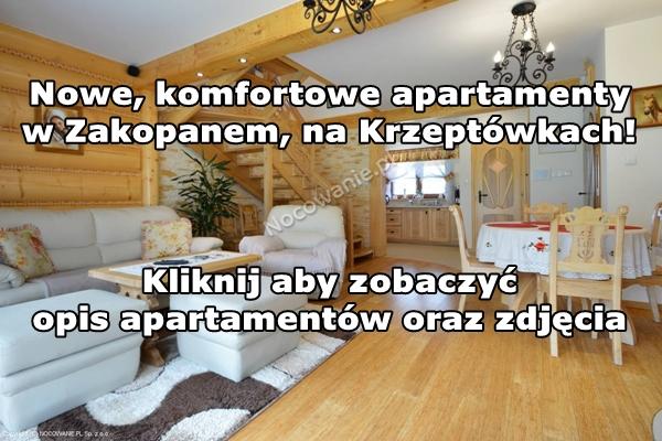 Nowe apartamenty na Krzeptówkach