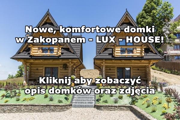 Nowe domki w Zakopanem